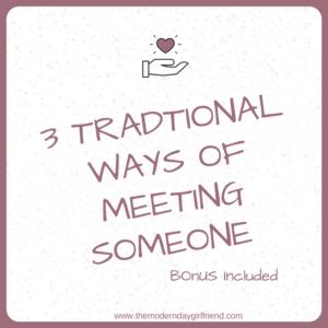 ways of meeting someone