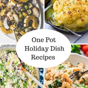 one pot holiday dish recipes