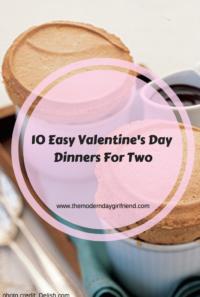 easy valentine's day dinner