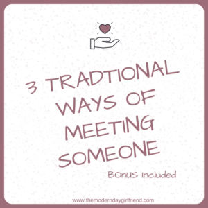 ways of meeting someone